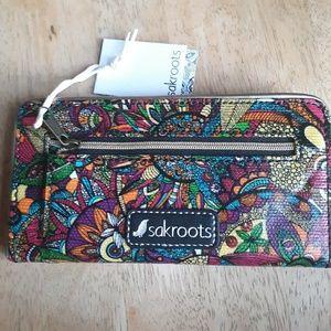 Handbags - Sakroots Rainbow Spirit Desert slim wallet